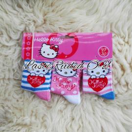 Tüdrukute Hello Kitty Sokid (1pakk - 3paari)