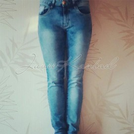 Naiste strech teksapüksid