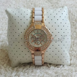 Beautiful watch with rhinestones