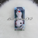 Toy frozen flashing lights and singing olaf